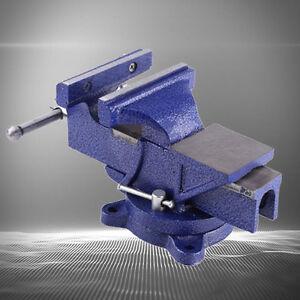 4-034-5-034-6-034-Parallel-Schraubstock-100mm-150mm-mit-Amboss-Drehbar-360-Neu-ST-02