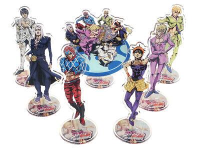 JoJo/'s Bizarre Adventure Aufsteller Set 7 Figuren Team Bucciarati Anime Deko