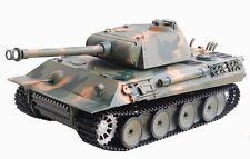 RC Panzer German Panther Heng Long Rauch+Sound+Schuss+Metallgetriebe 2.4GHz 1:16