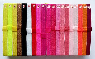 Wholesale 100 pcs Baby Girl Kids Headband Fashion stretch Silk Elastic Hairband