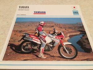 Stecker-Motorrad-Sammlung-Atlas-Motorrad-Yamaha-660-XTZ-Tenere-1991
