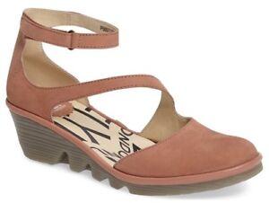 Fly-London-Donna-Plan-scarpe-cinturino-alla-caviglia-rosa