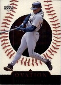 1999-Upper-Deck-Ovation-Baseball-Cards-Pick-From-List
