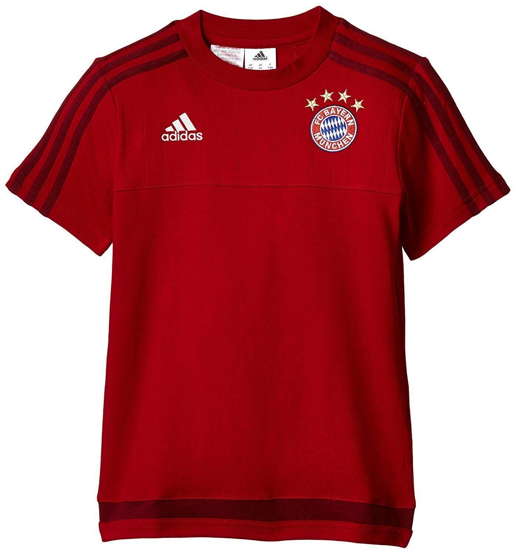 Adidas Kids T-Shirt FC Bayern S27334 Red