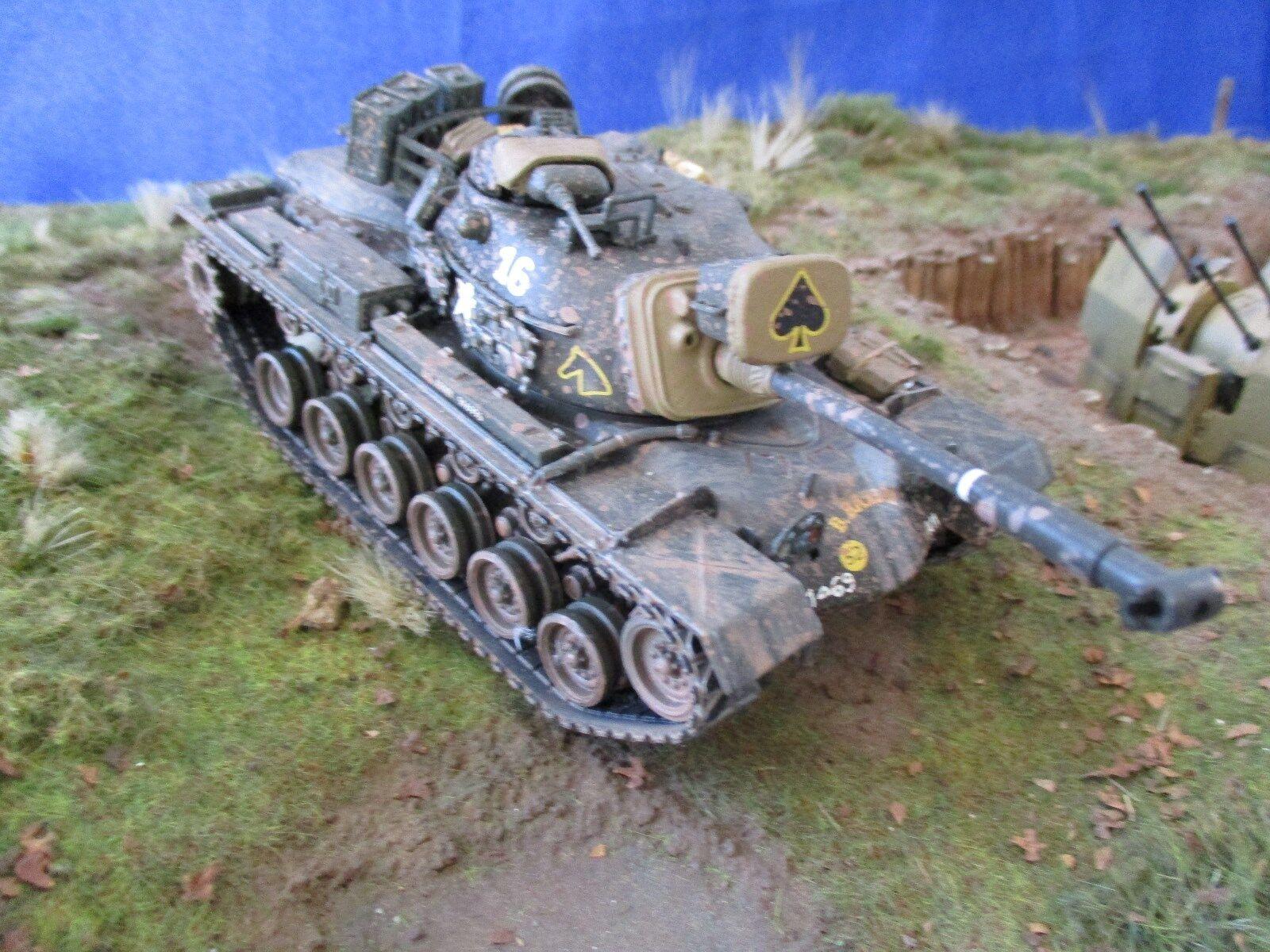 AE614 CORGI SpielzeugS 1 50 M48 A3 PATTON TANK VIETNAM WAR US50305 69th Armor US Army