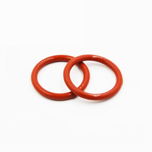 ID=64~380 Ø7mm Food Grade Rot Silikon Gummi O-Ring Dichtung Dichtring Washers