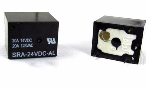 1PC NEW Songle Relay SRA-24VDC-AL 20A14VDC