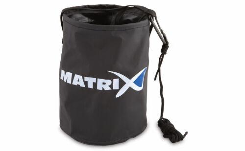 Matrix Match /& Coarse Fishing Collapsible Water Bucket /& Drop Rope