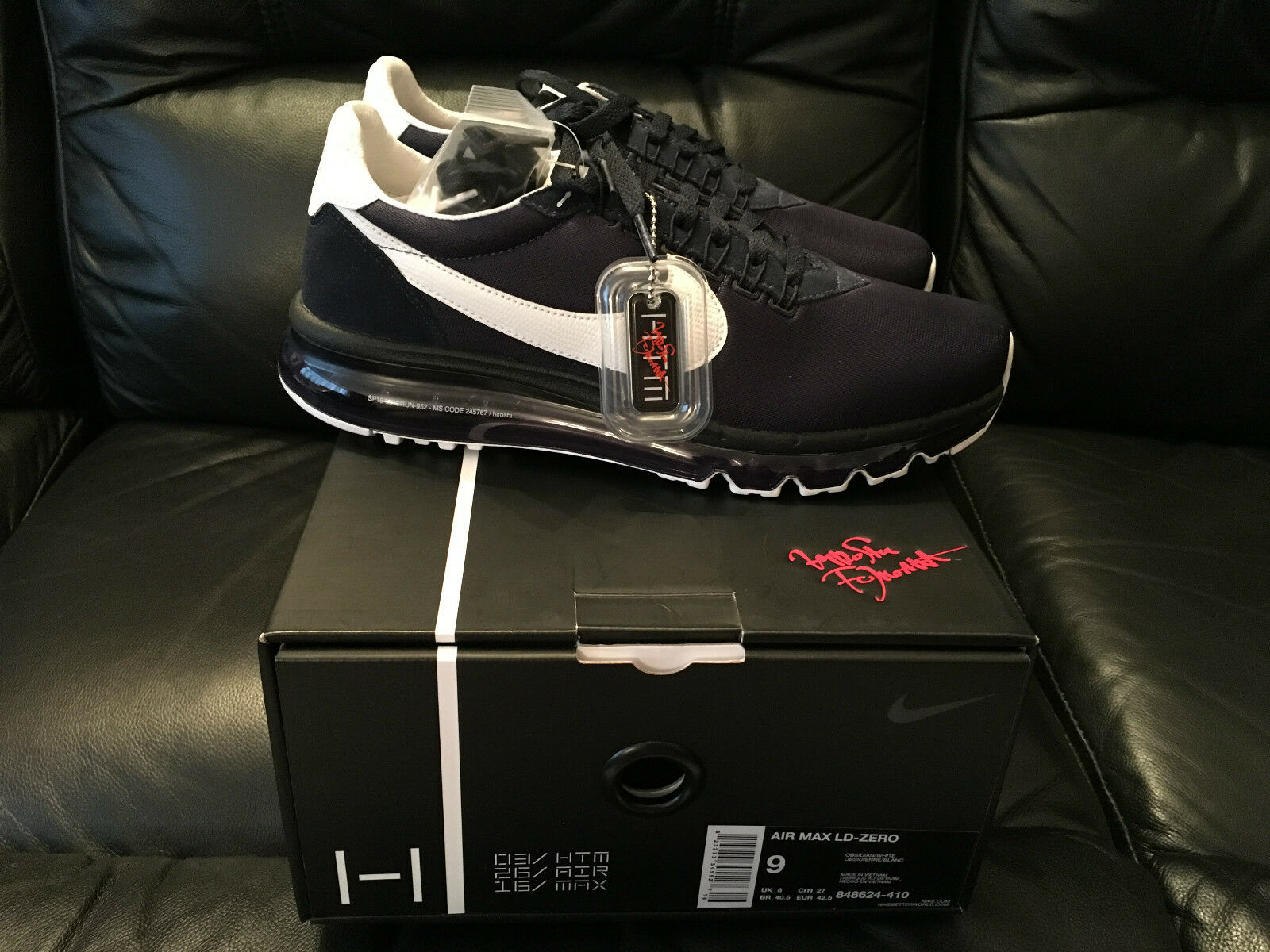nike air max ld - taille 0 h formateurs chaussures baskets taille - nouveau ce4fb1