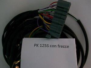 Schema Elettrico Frecce Auto : Impianto elettrico electrical wiring vespa pk 125 s con schema