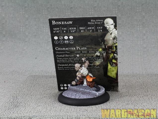 50mm GuildBall WDS pinted Mortician's Guild Bonesaw Season II d10