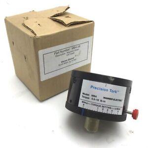 Warner-Electric-MB4-58-Precision-Tork-Permanent-Magnetic-Brake-0-5-10-Lbs-Inch