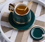 Creative-Drawing-gold-Porcelain-Tea-Cup-and-Saucer-Coffee-Cup-Set-With-Spoon-Lid thumbnail 4