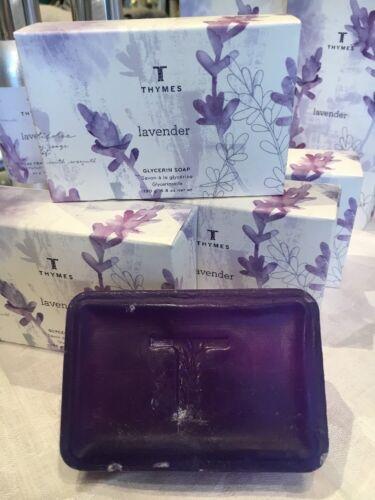 Thymes Lavender  Soap box purple bar hmmmn