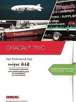 Plotterfolie ORACAL  651  5m x 31cm  grau 071