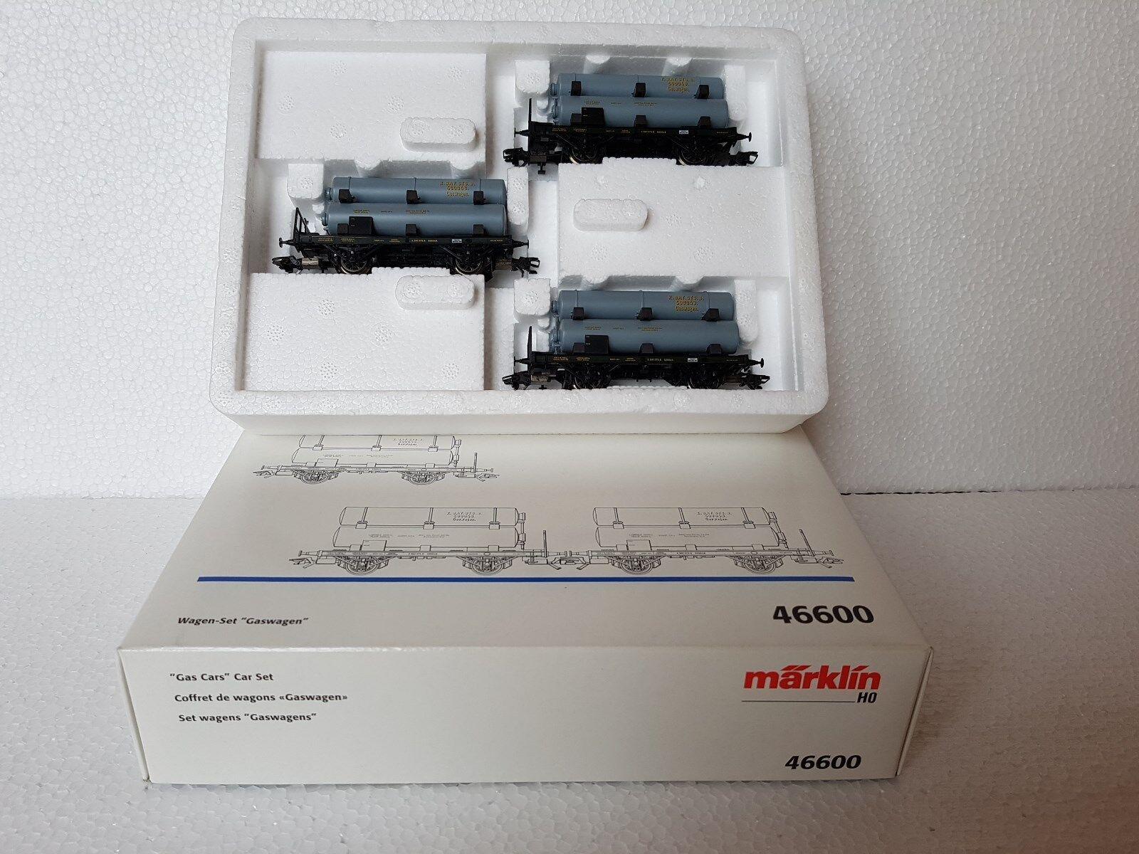 Märklin H0 46600 Wagen-Set GASWAGEN Set der KBayStsB 3tlg Neu OVP  | Ausgezeichnete Leistung