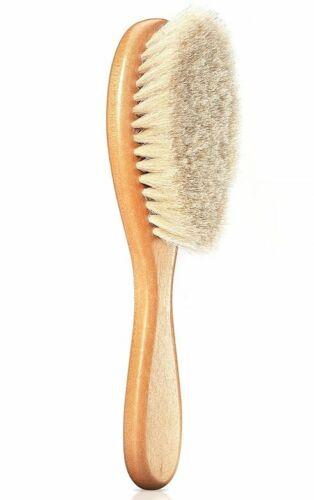 Medium Baby Hair Brush Natrual Line Goat Hair