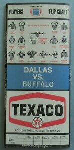 1970-Texaco-Dallas-Cowboys-vs-Bills-Flip-Chart-OJ-Simpson-Hayes-Staubach-Lilly