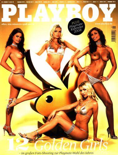 1 von 1 - Playboy 01/2008 Roberta Mancino,Nina Hoss,Eck. Witzigmann,Leonor Perez