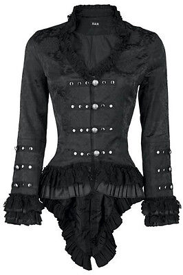 H&R London Jacket Gloria Gehrock Gothic Lolita Steampunk Vampire Pirate WGT 0919