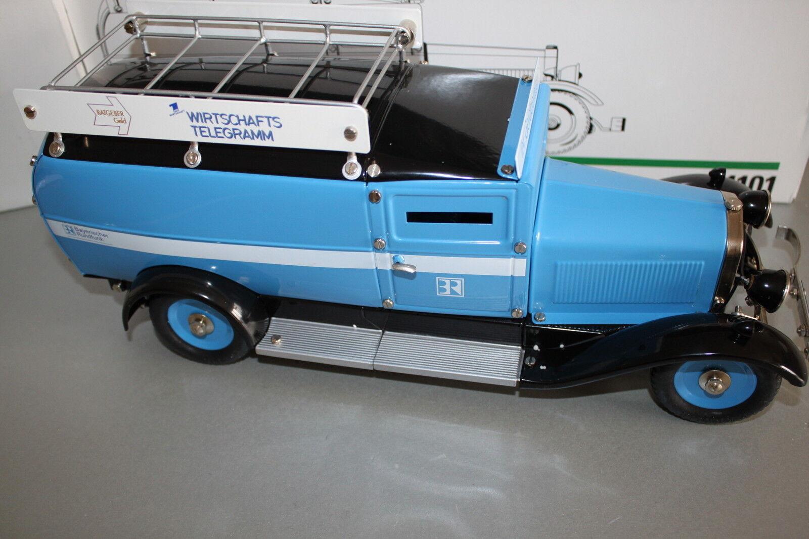 Märklin 1101 camions Bavière radio fourgon 1 16 OVP