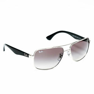 Ray-Ban-RB3483-Sunglasses-Silver