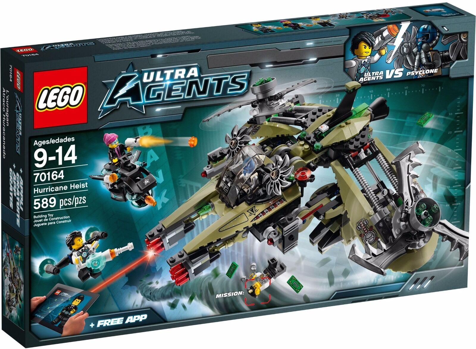 LEGO Ultra Agents Hurrucane Heist ()(Retired 2014)(Rare)(NEW)