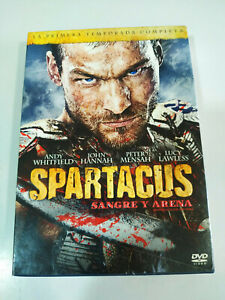 Spartacus-Primera-Temporada-Completa-5-x-DVD-Castellano-English-Region-2