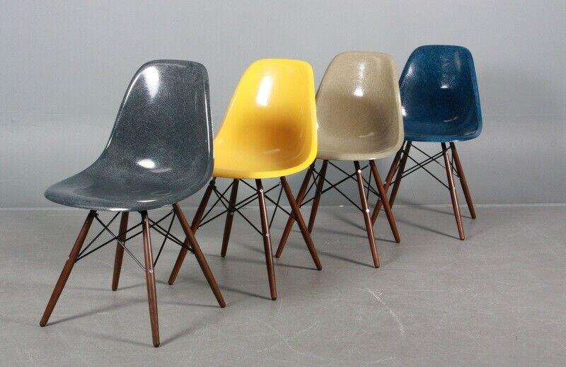 Spisebordsstol, Glasfiber, Eames – dba.dk – Køb og Salg af
