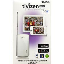 Tivizen Nano DVB-T Handy Empfänger Tablet,Apple,Samsung  [ White ]