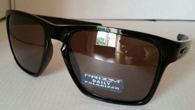 Oakley Sliver XL Prizm Daily Polarized OO9341-06 Polished Black/Prizm Daily NEW