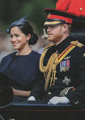 ~~~ ORGINAL~~~ POSTKARTE ~~~ aus London Prinz Harry Herzog von Sussex