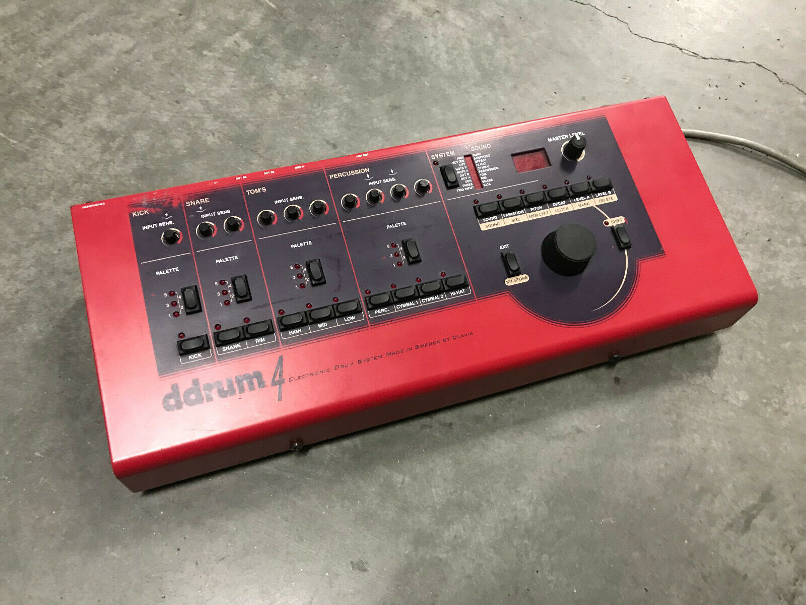 DDRUM 4 ELECTRONIC DRUM MODULE BRAIN