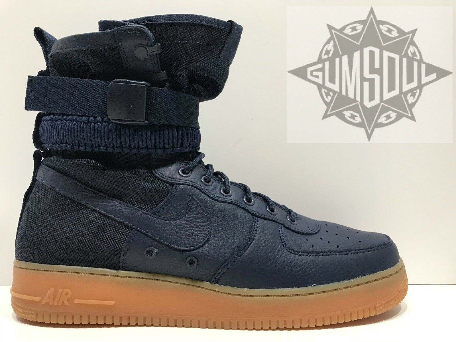 Nike sf af1 speciale campo air gomma force 1 mezzanotte marina gomma air 864024 400 sz 10,5 1db488