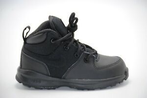 san francisco ad1be f6c96 Image is loading Nike-Manoa-Leather-Textile-Toddler-Boots-613548-001-