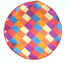 Lord R Colton Masterworks Pocket Round Capri Bold Red Silk $75 Retail New