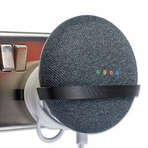 Power-Plug-Mount-for-Google-Home-Mini-Google-Home-Mini-Bracket-Tiny-Black