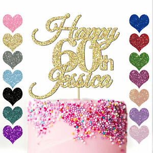 Personalised-Glitter-Happy-60th-Birthday-Cake-Topper-Custom-Name-16-18-21-40-50