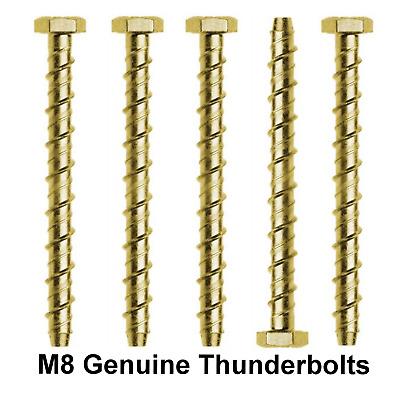 M8 x 75mm TIMCO MULTI-FIX BOLT MASONRY ANCHOR CONCRETE BRICK THUNDERBOLT
