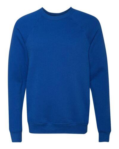 Bella Canvas Unisex Blend Sponge Fleece Crewneck Sweatshirt XS-XL 2XL Jumper 901