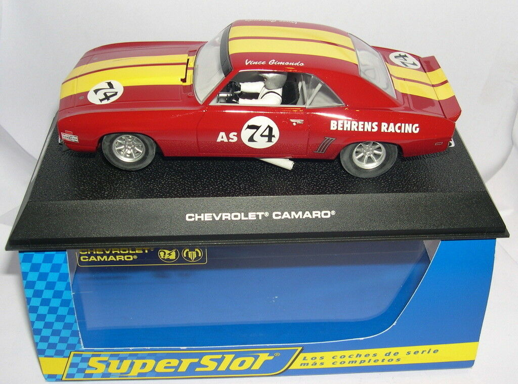 SUPERSmassa H2740 KEVROLET CAMARO BHRENS RACERING SCALEXTRIC MB