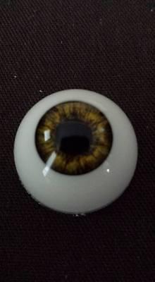 18 mm Pabol CA04  New Green Reborn Doll Eyes Acrylic half round FAST SHIPPING