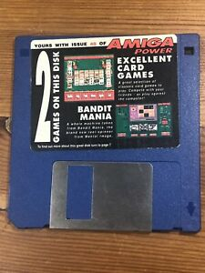 Amiga-Power-Magazine-cover-disk-40-Excellent-Card-Games-Bandit-TESTED-WORKING