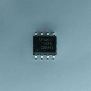 5-x-SP3490E-SP3490EN-L-TR-3-3V-Low-Power-Full-Duplex-RS-485-Transceivers-SOP-8