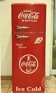 Retro-Kuehlschrank-Gefrierkombination-Bomann-A-in-Rot-Coca-Cola-Design-K2