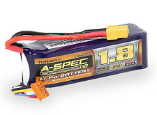 Turnigy Nano-Tech A-Spec G2 1800mAh 4S 14.8V 65C 130C LiPo Battery Pack XT60 USA