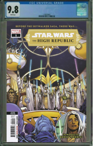 Star Wars The High Republic #1 Anandito Variant CGC 9.8