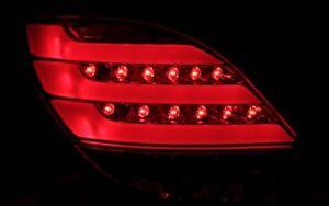 KLARGLAS-LED-BAR-RUCKLEUCHTEN-SET-PEUGEOT-207-06-LIGHTBAR-3-5-TURER-SCHWARZ-NEU