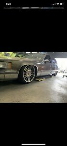 Bagged 1993 Cadillac Fleetwood LS swap