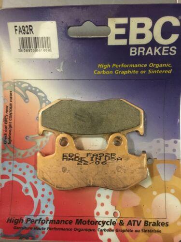 R Series Long Life Sintered Brake Pads EBC FA92R Honda